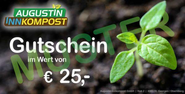 Innkompost Gutschein 25 €